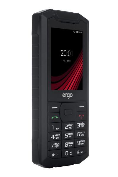 Мобильный телефон ERGO F245 Strength Dual Sim (черный)