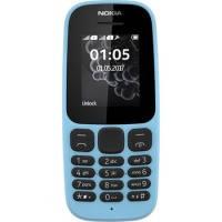 Мобильный телефон NOKIA 105 Dual SIM (blue) TA-1034