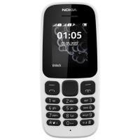 Мобильный телефон NOKIA 105 Dual SIM (white) TA-1034