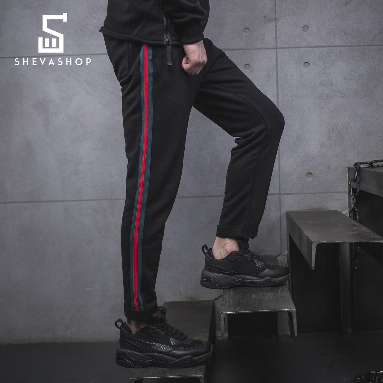 Спортивные штаны с лампасами мужские BeZet Yankee 19 темный