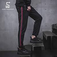 Спортивные штаны с лампасами мужские BeZet Yankee 19 темный, фото 1