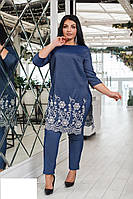 Костюм женский кардиган и штаны, фото 1