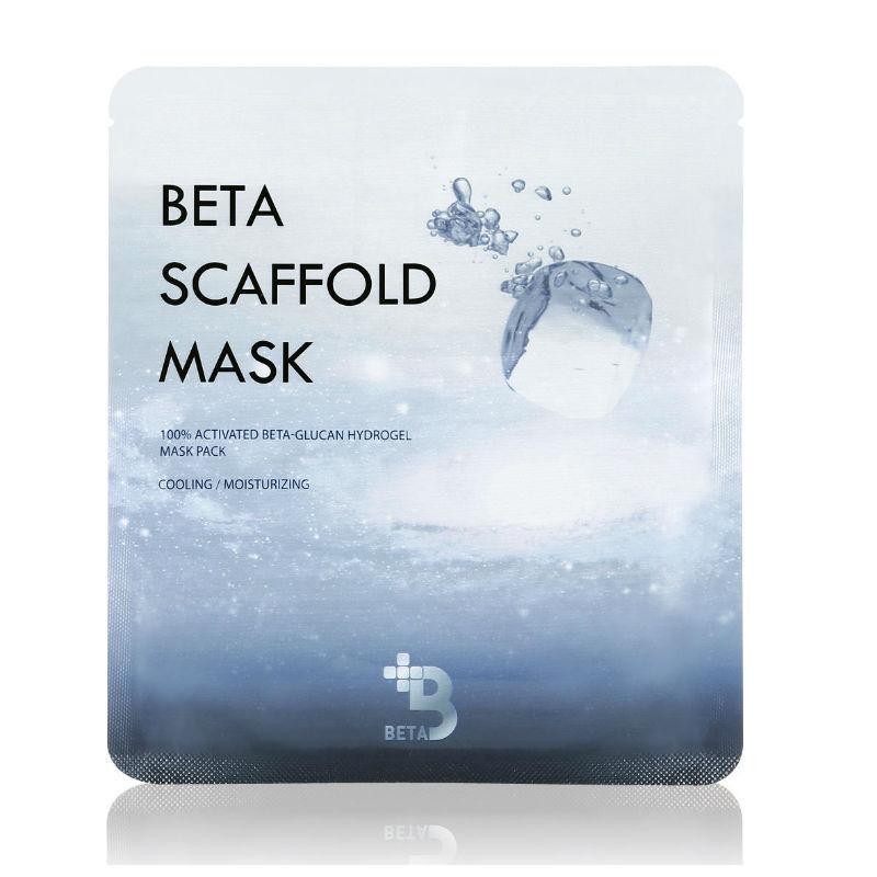 Гідрогелева маска для відновлення шкіри Beta Scaffold Mask з бета-глюканом