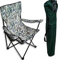 """Стул - кресло складной """" Рыбак """" хаки с чехле для рыбалки и отдыха"""