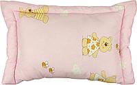 Подушка Руно силиконовая розовая детская 40*60 арт.309.02СЛУ_рожевий