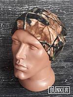 Флисовая шапка/пошлемник в расцветке лес/камыш, фото 1