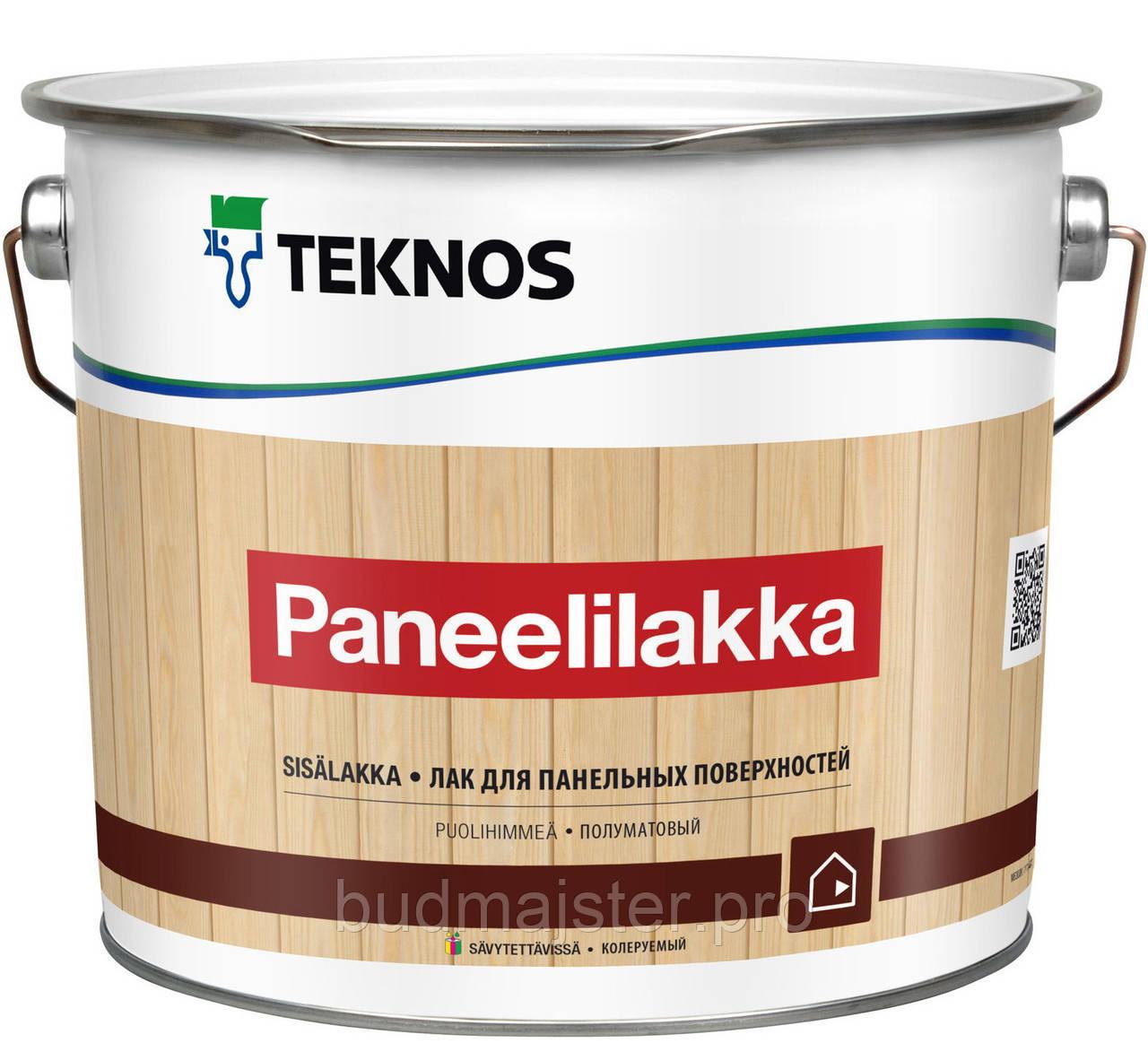Лак Teknos Панелілакка півматовий,0,9 л