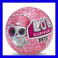Кукла LOL Pets в шаре питомец+кукла 7 surprises 35+ to collect, 22 series