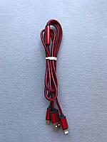 USB кабель 2 в 1 iPhone+microUSB