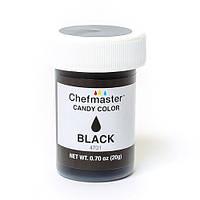 Жирорастворимый краситель Сhefmaster (черный), 20 гр.