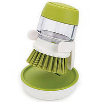 Щетка для мытья посуды с дозатором для моющего средства JESOPB