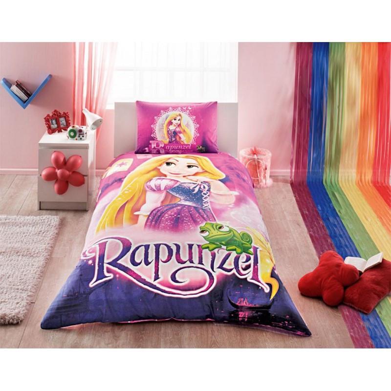 Постельное белье Tac Disney - Rapunzel 160*220 подростковое
