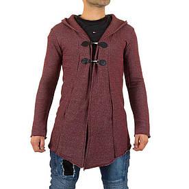 Мужской свитер от Uniplay, размер S - Бордо - KL-H-UP-T107-Бордо S