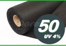 Агроволокно Agreen Р-50 с перфорацией 1,07*100м черный