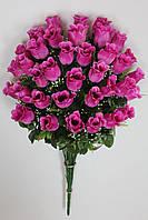 Штучні квіти Троянда букет 70 см, фото 1