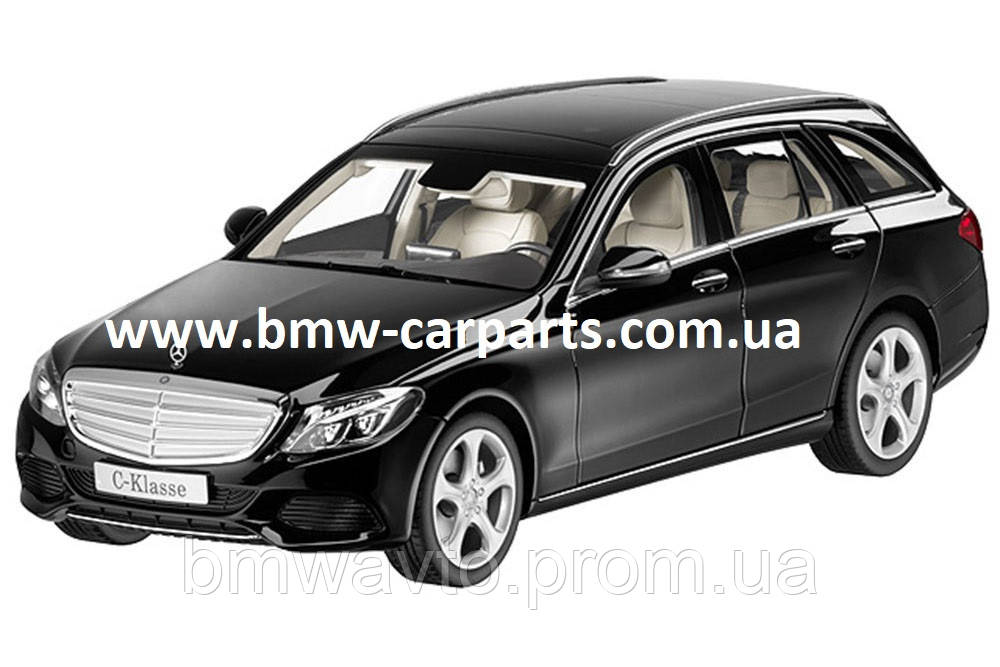 Модель автомобиля Mercedes C-Class Estate, Exclusive, Scale 1:18, Black