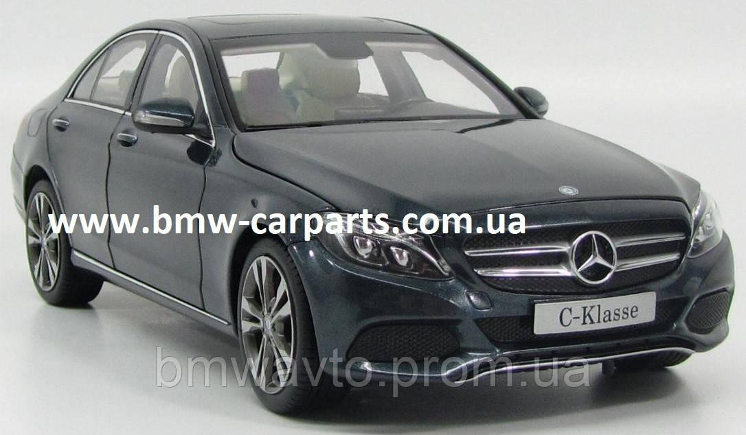 Модель автомобиля Mercedes C-Class, Saloon, Avantgrade, Scale 1:18, Tenorite Grey
