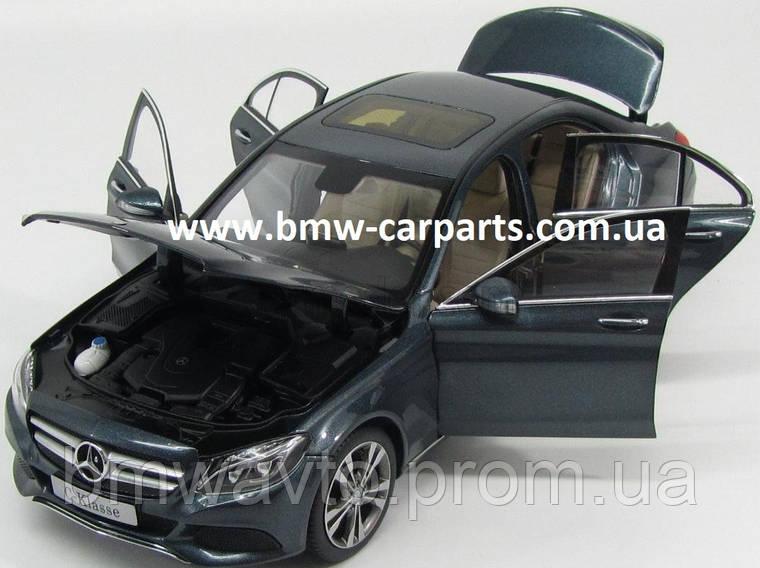 Модель автомобиля Mercedes C-Class, Saloon, Avantgrade, Scale 1:18, Tenorite Grey, фото 2