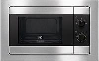 Микроволновая печь Electrolux EMМ 202180 X (встраиваемая СВЧ, 800 Вт, 18 л, серебристая, електролюкс)