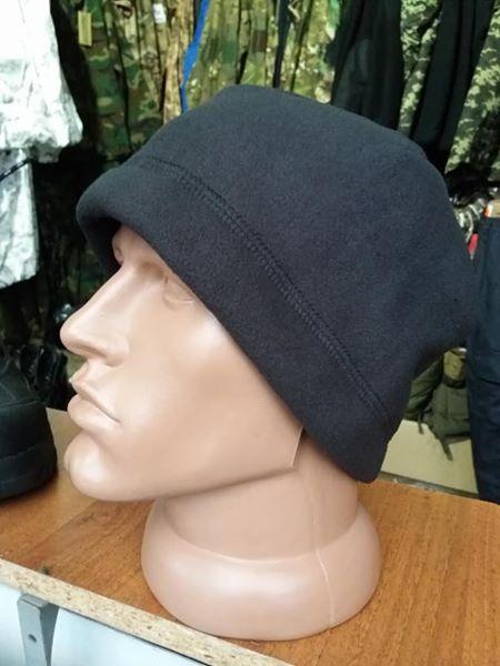 Флисовая шапка Sherpa черная