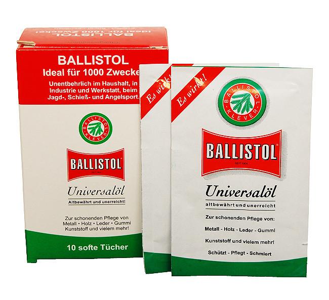 Серветки для чищення зброї Klever Ballistol 10 шт.