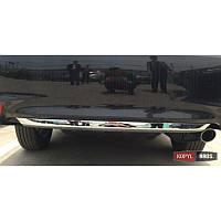 Накладка молдинг на бамперToyota Camry V55 2015- хромированая