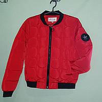 Женская короткая демисезонная куртка XL