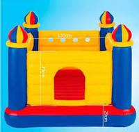 Надувной игровой центр-батут Замок Intex48259