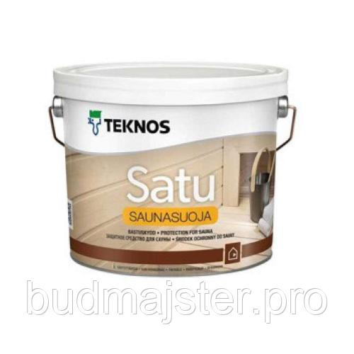 Засіб для сауни Teknos Сату Саунасуоя, 2,7 л