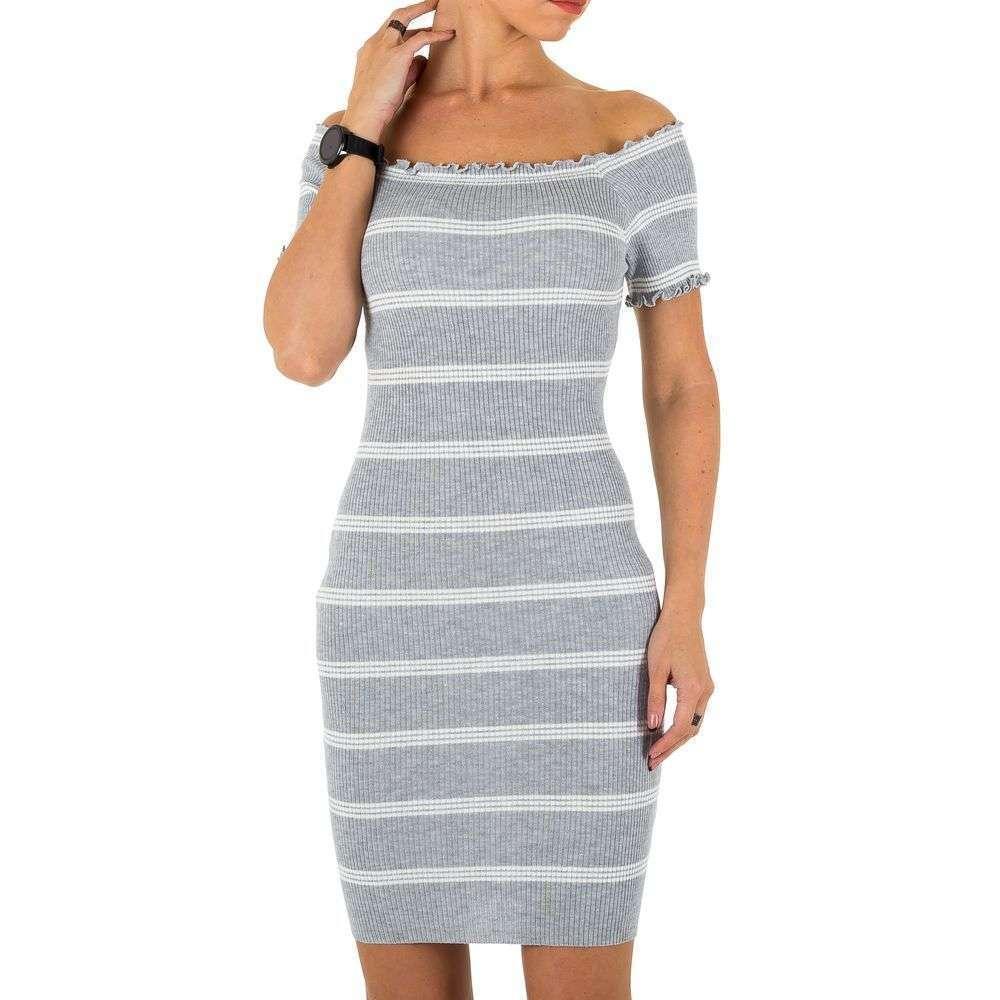 Женское платье, размер one size - серый - KL-C658-серый
