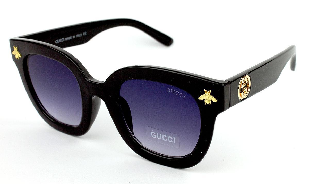 Солнцезащитные очки Gucci GG0116S-1 (Реплика)