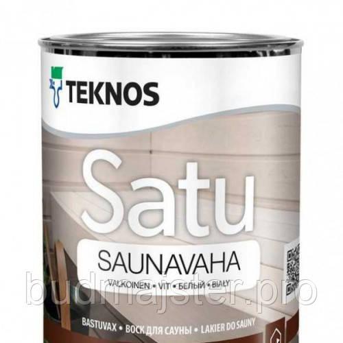 Віск Teknos Сату Саунаваха прозорий 0,9 л