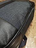 (41*28-мале)Рюкзак Ferrar-PUMA мессенджер с кожаным дном спортивный городской стильный рюкзаки оптом, фото 7