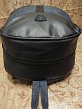(41*28-мале)Рюкзак Ferrar-PUMA мессенджер с кожаным дном спортивный городской стильный рюкзаки оптом, фото 5
