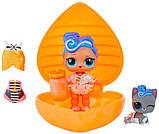Игровой набор с куклами L. O. L. - Сердце сюрприз в оранжевом кейсе, фото 3