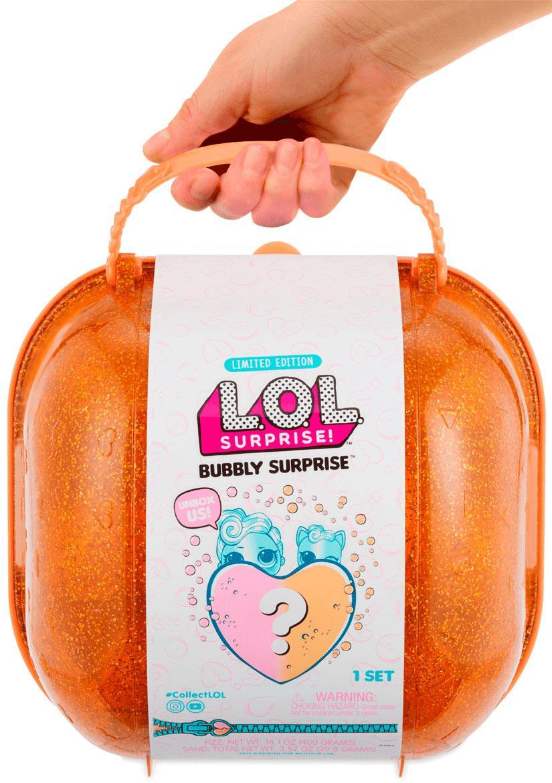 Игровой набор с куклами L. O. L. - Сердце сюрприз в оранжевом кейсе