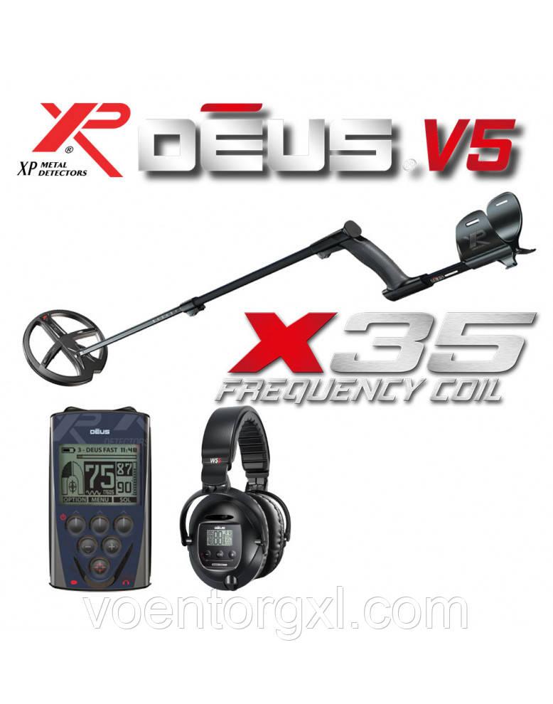 МЕТАЛЛОИСКАТЕЛЬ XP DEUS 22 X35 RC WS-5