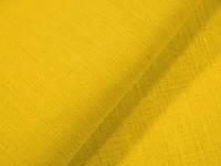 Лен ткань / желтый