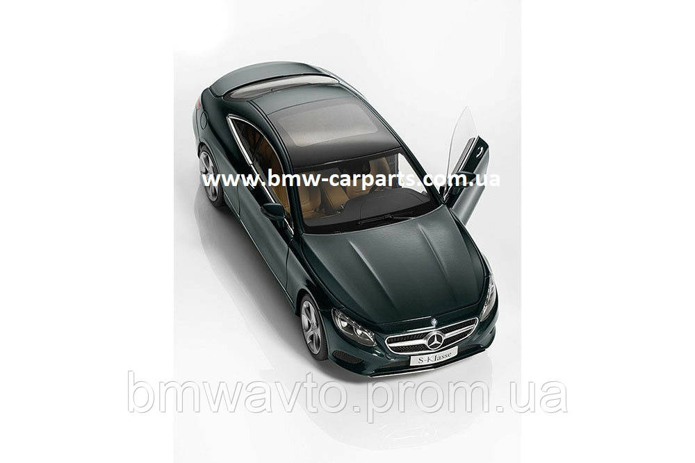 Модель автомобиля Mercedes S-Class Coupé, Scale 1:18, Emerald Green