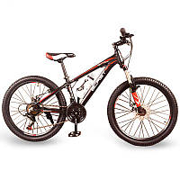 Горный Подростковый Велосипед S300 BLAST-БЛАСТ. Диаметр колёс 24'',Рама 13''