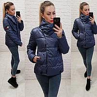 Демисезонная куртка 2019 ,арт. 1004, цвет темно-синий, фото 1