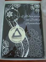 Эксклюзивная картина из шоколада с логотипом компании