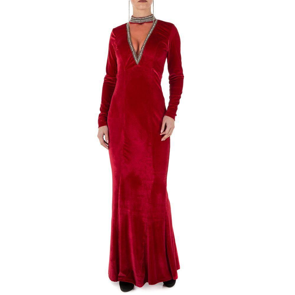 Женское платье от Emmash Paris, размер S/36 - winered - KL-МУ-1066-S winered
