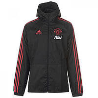 Куртка adidas Manchester United Rain Black/Pink - Оригинал