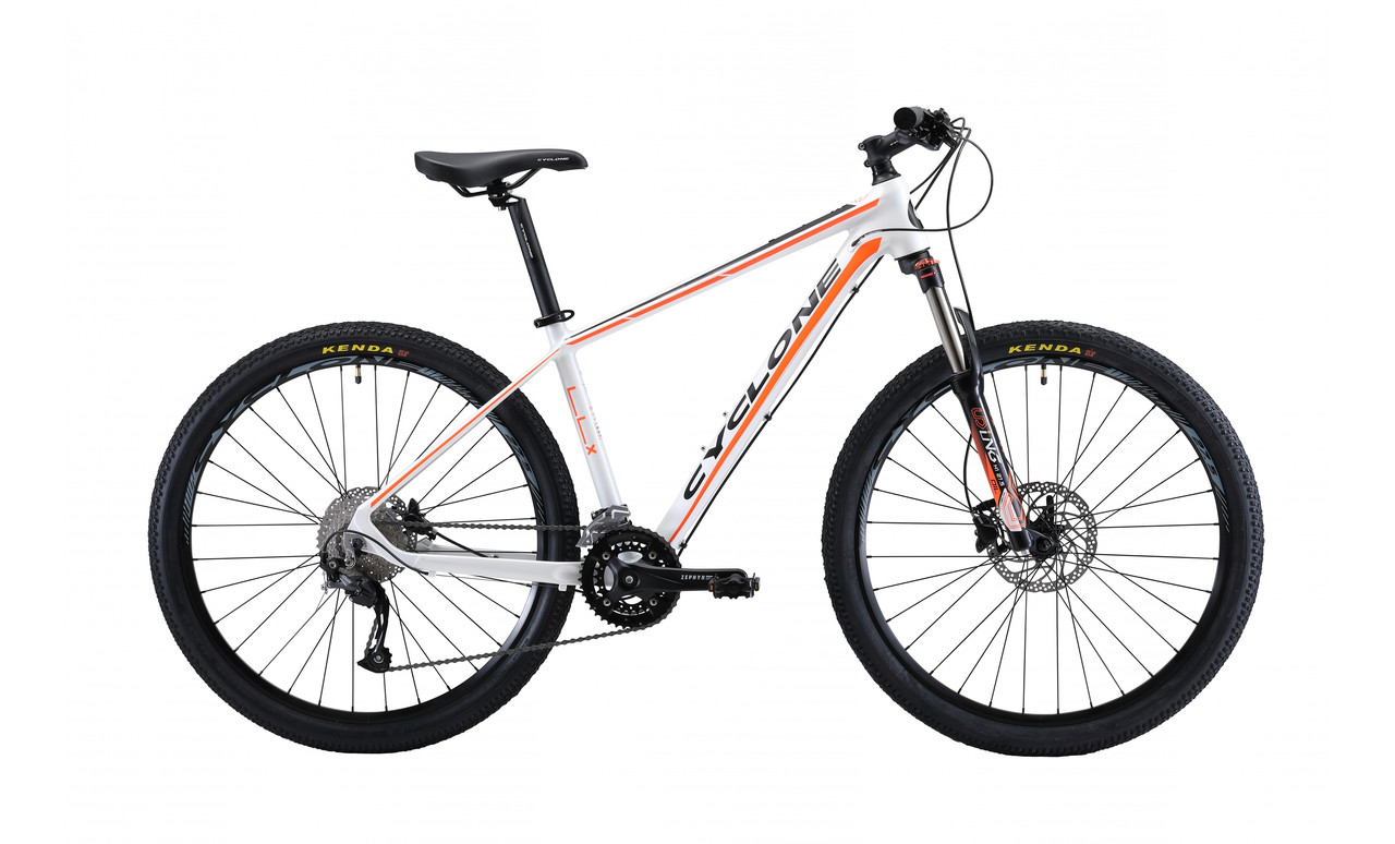 "Велосипед CYCLONE LLX 27,5"" 2019 белый"