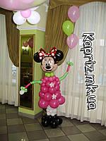 Минни Маус из шаров  2