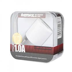 Зарядний пристрій Apple Power Adapter для iPhone Remax 1.0 A 1USB