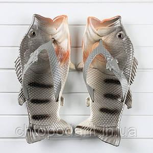 Вьетнамки рыбы тапки в виде окуня Код 10-0954
