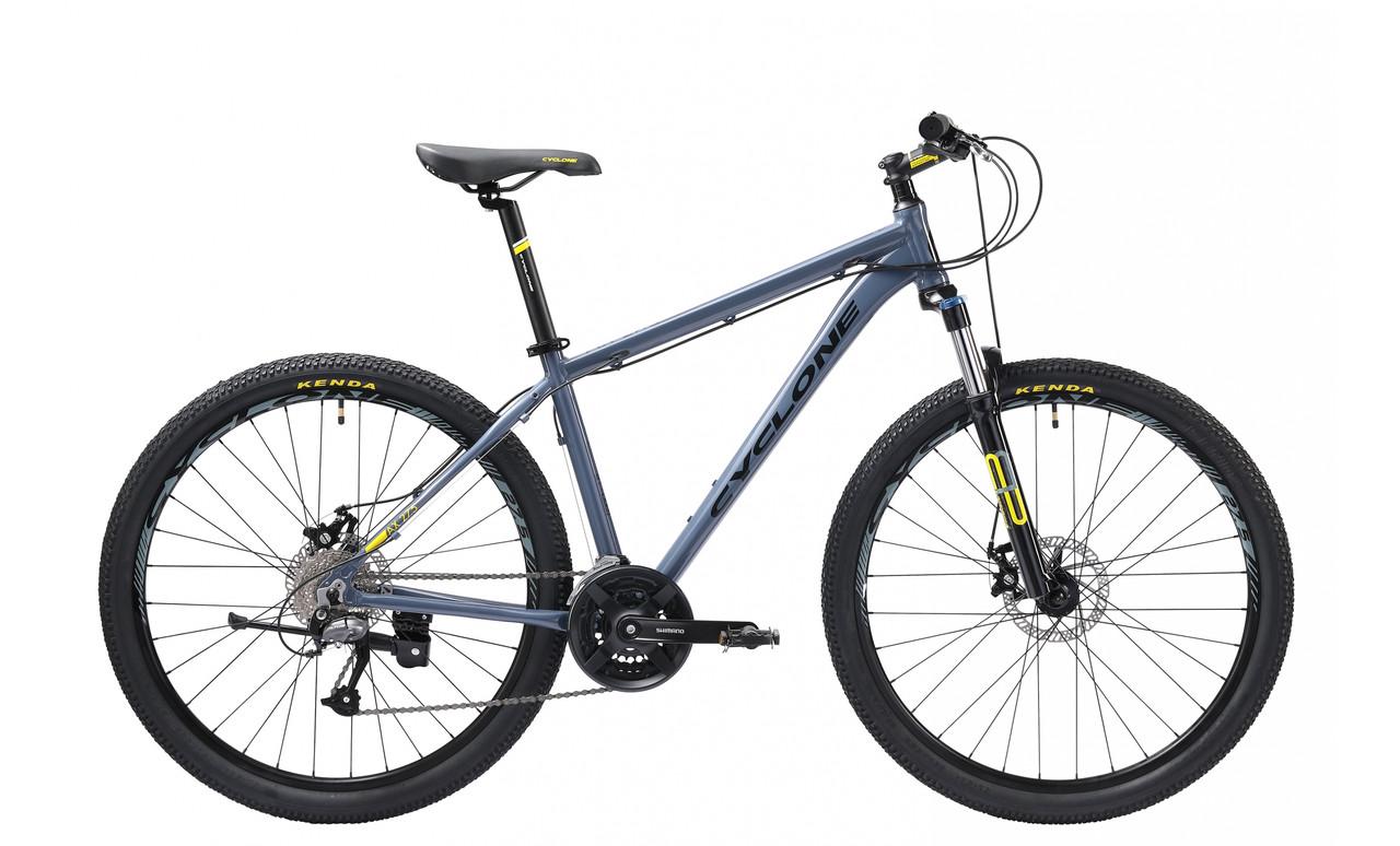 """Велосипед CYCLONE AX 27,5"""" 2019 серый"""