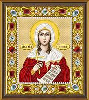 Набор для вышивки бисером Св. Мц. Татьяна (Татиана) Римская Д 6171